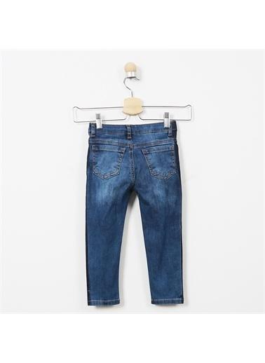 Panço Kız Çocuk Denim Pantolon 19221021100 Lacivert